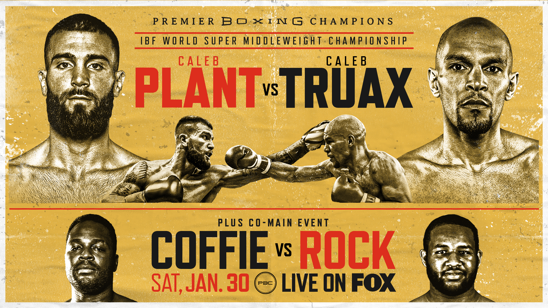 Coffie vs Rock Live Stream & Fight Preview | January 30, 2021