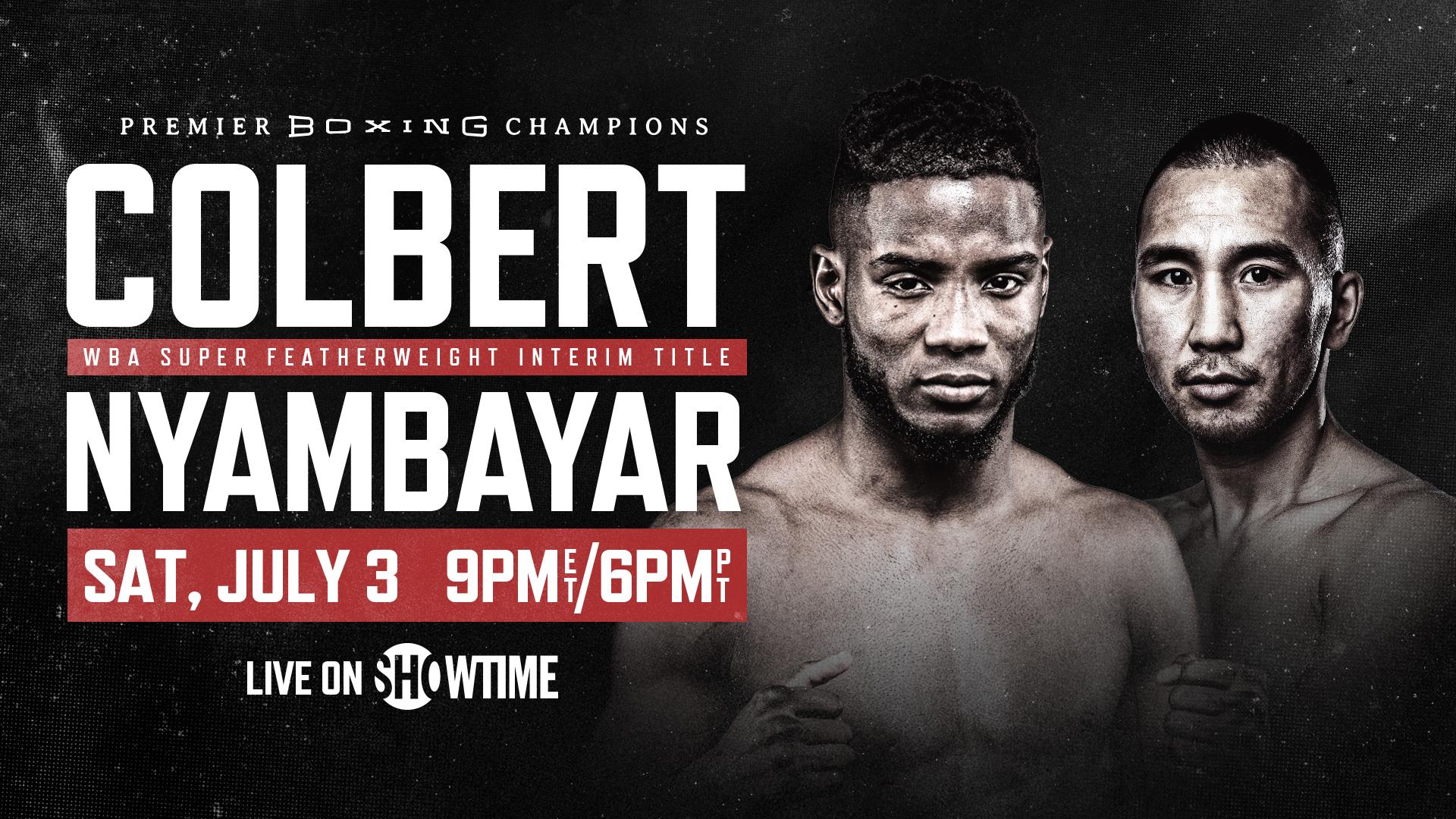 Colbert vs Nyambayar Live Stream & Fight Preview | July 3, 2021