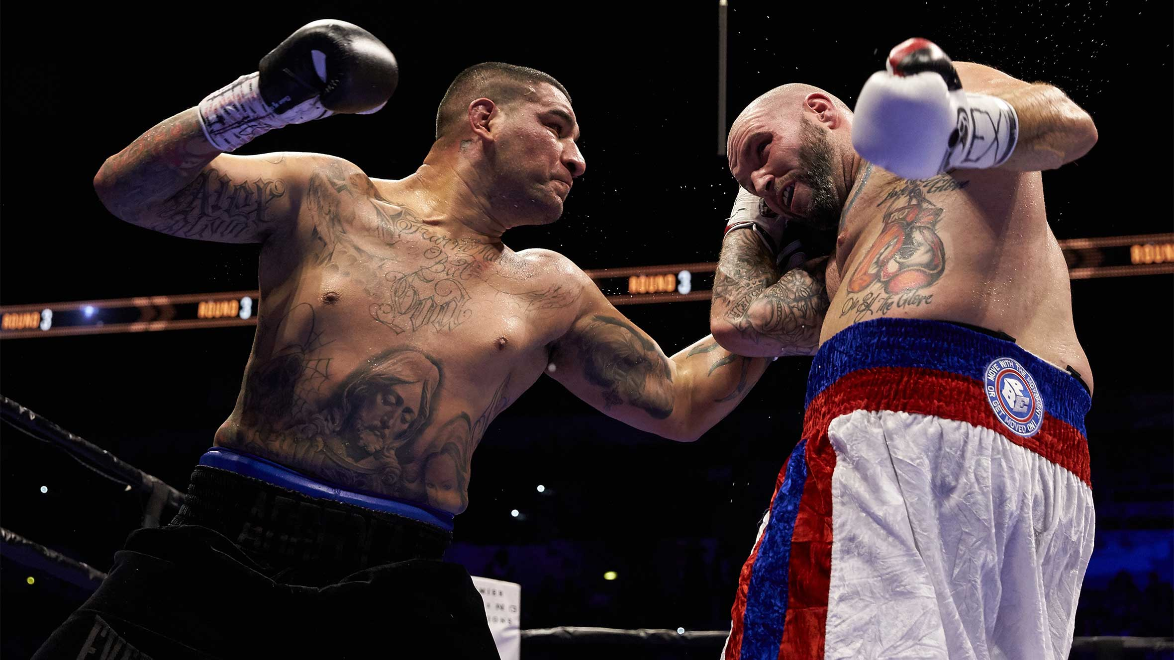 Chris Arreola - American heavyweight boxer of Mexican descent