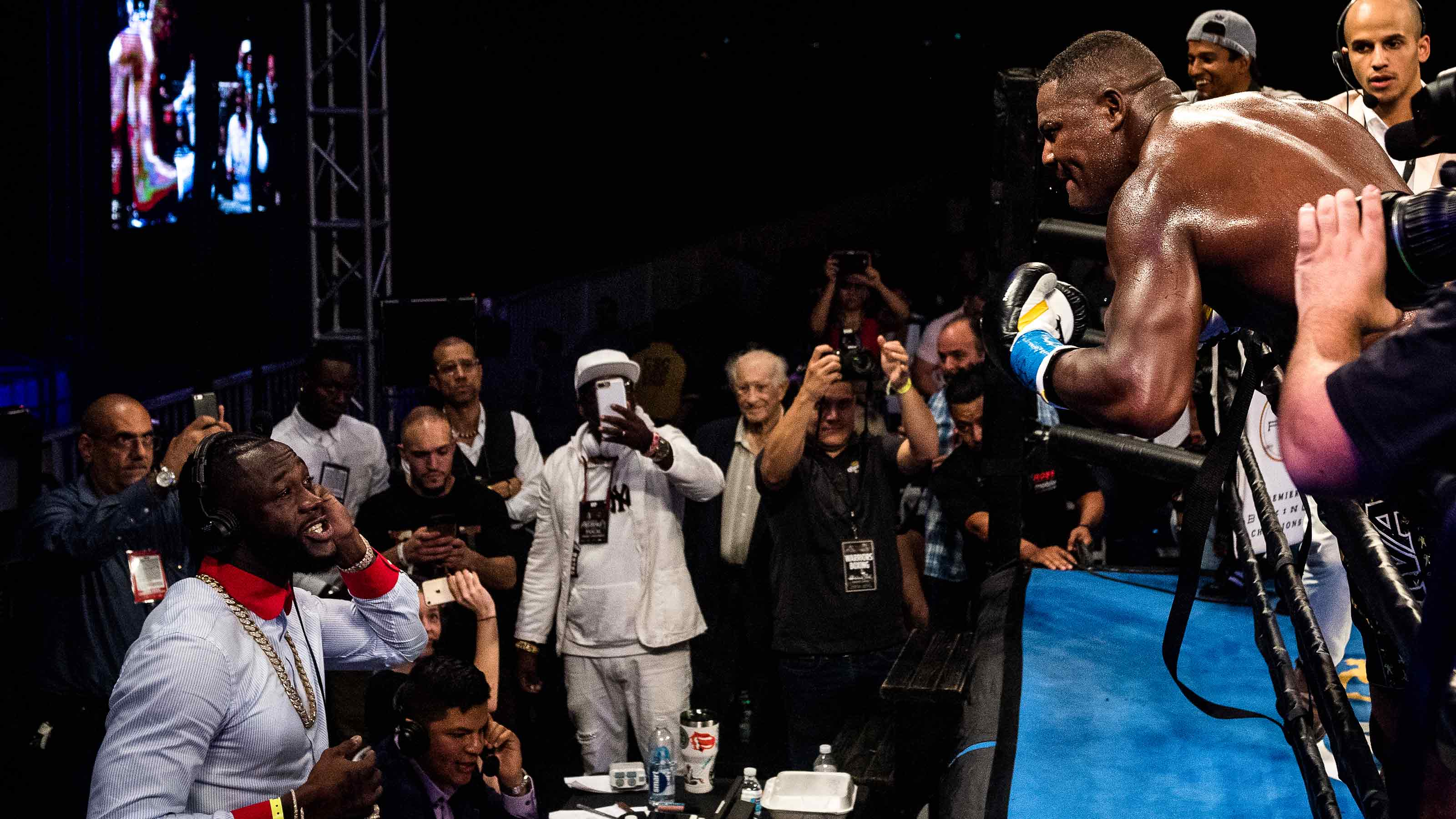c19812981e99 Heavyweight Champion Deontay Wilder Targets Luis Ortiz Again