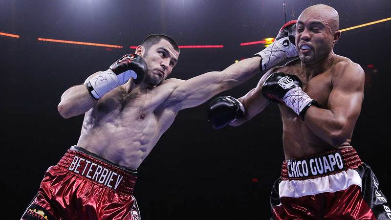 Artur Beterbiev and Gabriel Campillo