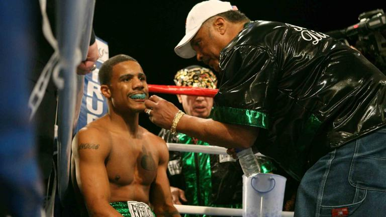 Andre Dirrell and Victor Oganov