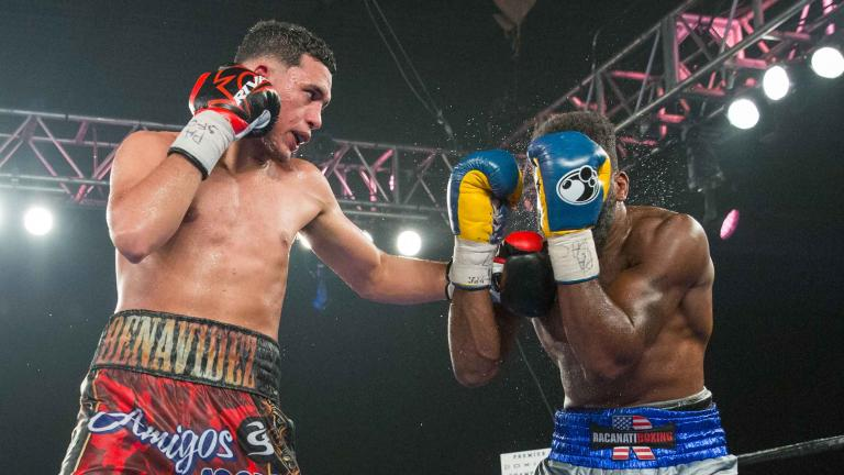 David Benavidez and Denis Douglin