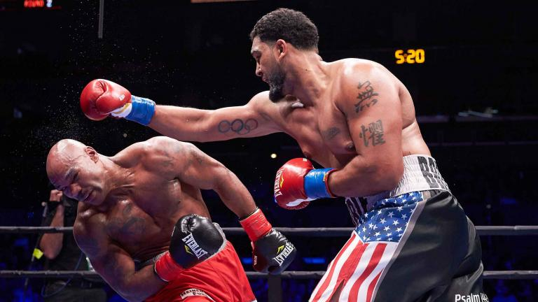 Dominic Breazeale and Amir Mansour