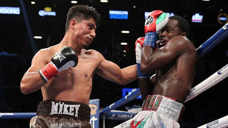 Mikey Garcia and Adrien Broner