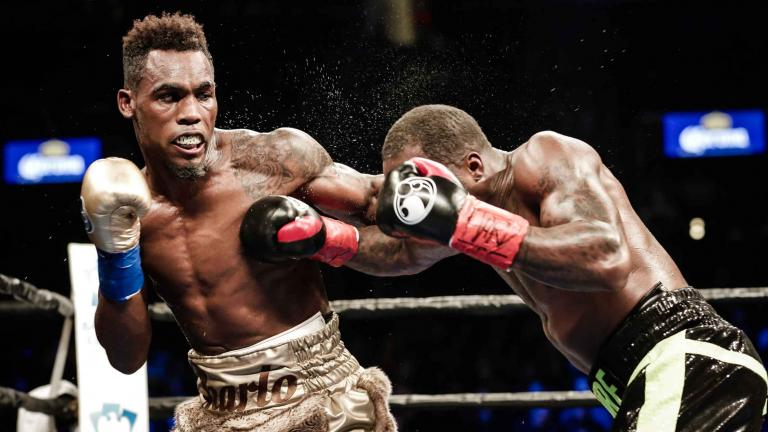 Jermell Charlo and Charles Hatley