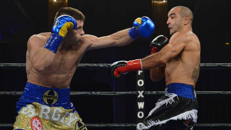 Sergiy Derevyanchenko and Sam Soliman