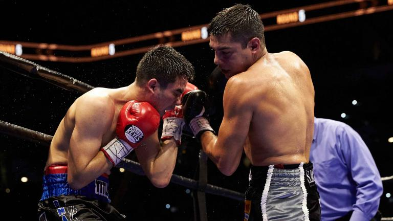 Omar Figueroa Jr. and Antonio DeMarco