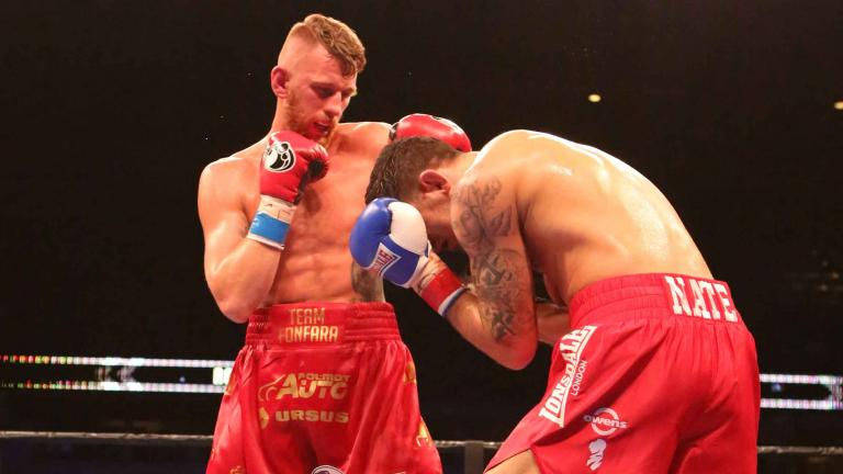 Andrzej Fonfara and Nathan Cleverly