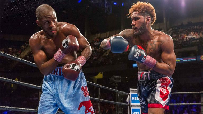Tony Harrison and Jarrett Hurd