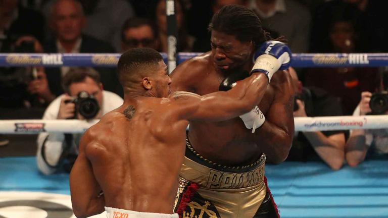 Charles Martin and Anthony Joshua