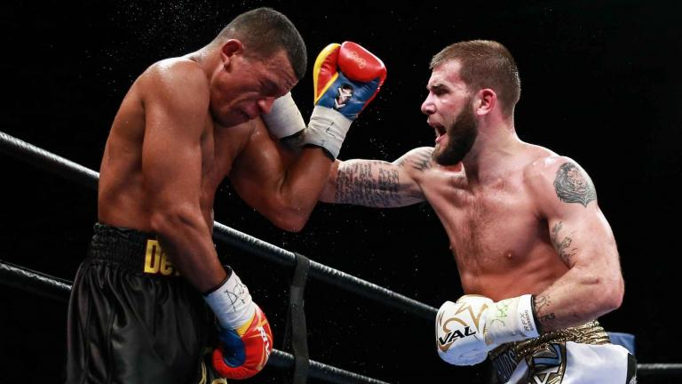 Caleb Plant and Juan De Angel
