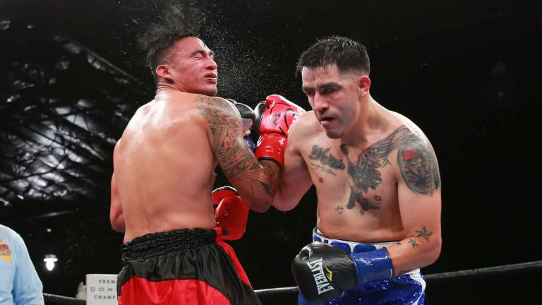 Brandon Rios and Aaron Herrera