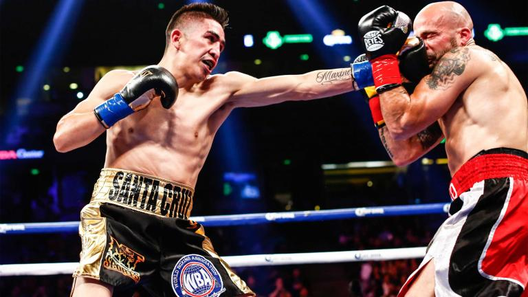 Leo Santa Cruz and Kiko Martinez