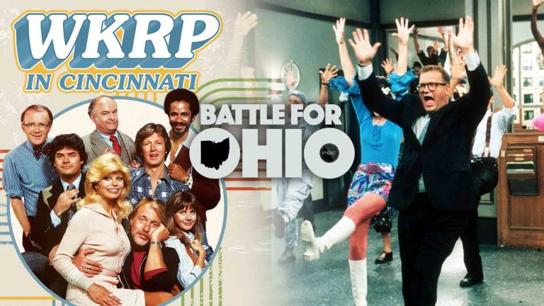 Battle for Ohio WKRP in Cincinnati and The Drew Carey Show