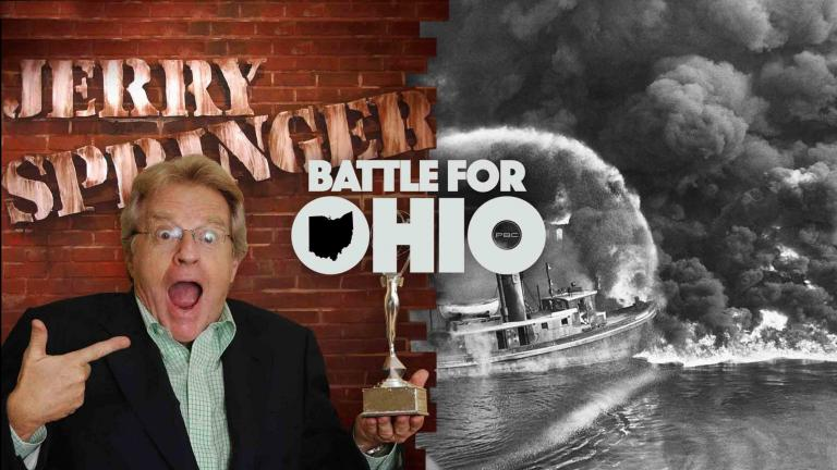 Jerry Springer Battle for Ohio