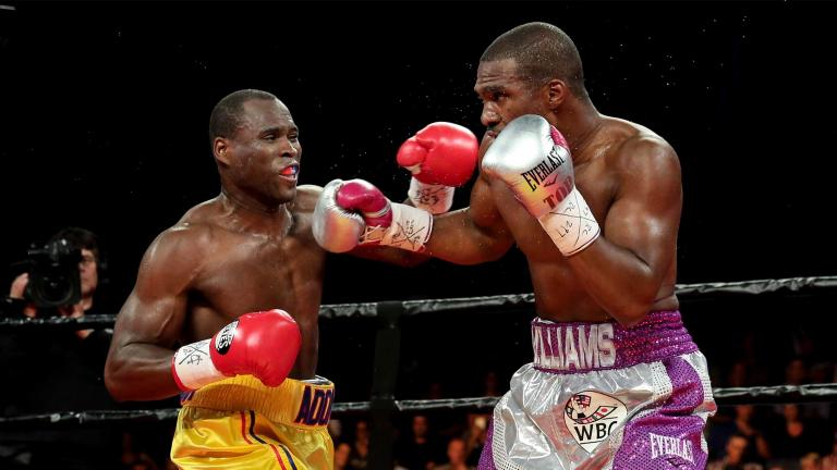 Adonis Stevenson and Thomas Williams Jr.