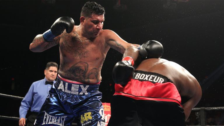 Chris Arreola and Frederic Kassi