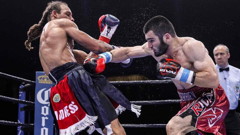 Artur Beterbiev and Alexander Johnson