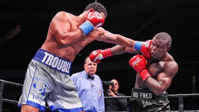 Dominic Breazeale and Fred Kassi