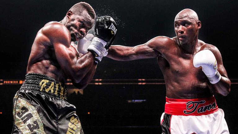 Antonio Tarver and Steve Cunningham