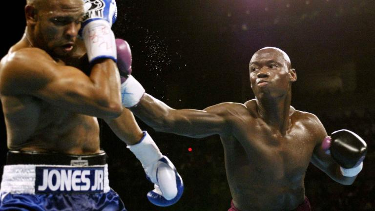 Antonio Tarver and Roy Jones Jr.
