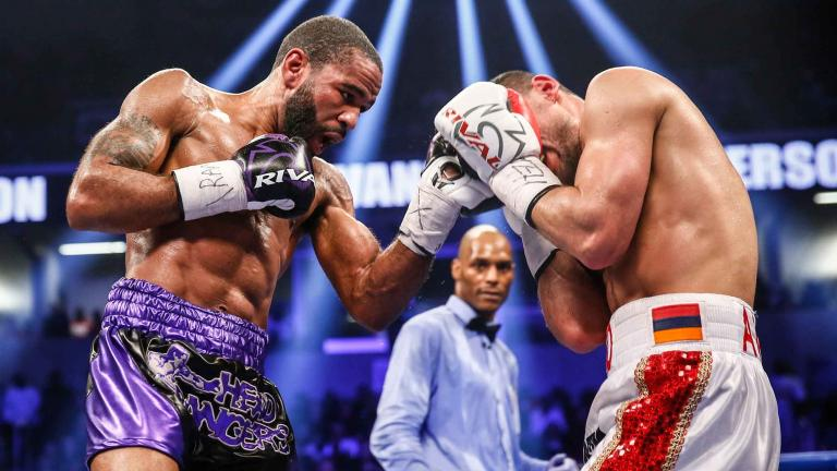 Lamont Peterson and David Avanesyan
