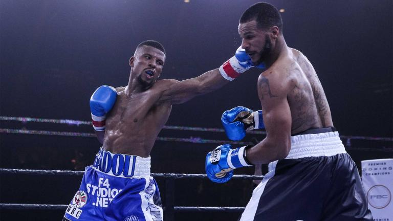 Badou Jack and Anthony Dirrell