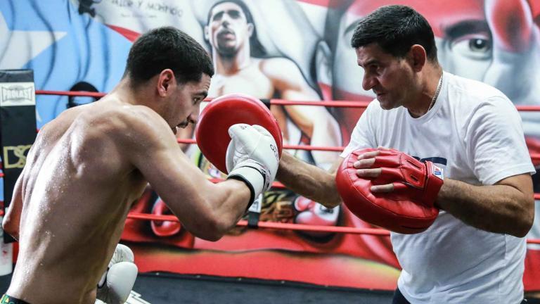 Danny Garcia and Angel Garcia