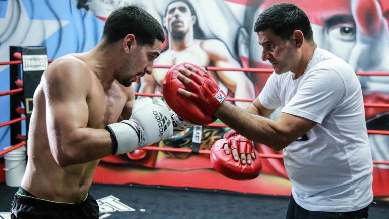 Danny Garcia and Angel Garcia