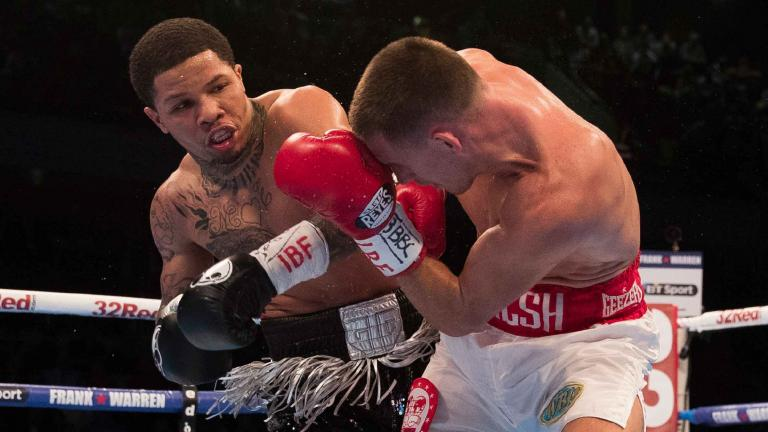 Gervonta Davis and Liam Walsh
