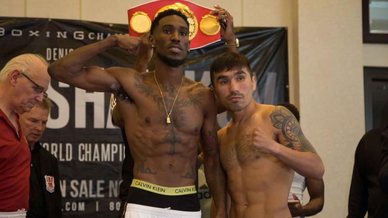 Robert Easter Jr. and Denis Shafikov