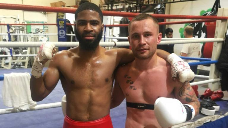 Stephen Fulton and Carl Frampton