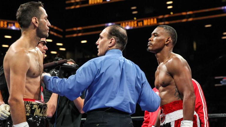 Daniel Jacobs and Sergio Mora