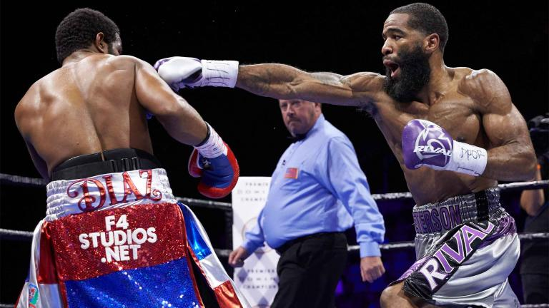 Lamont Peterson and Felix Diaz