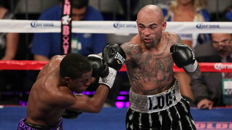 Luis Collazo and Steve Upsher Chambers