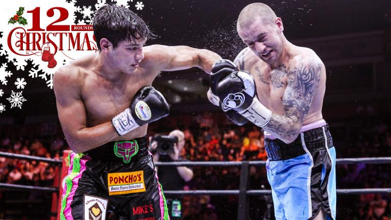 Omar Figueroa Jr. and Ricky Burns