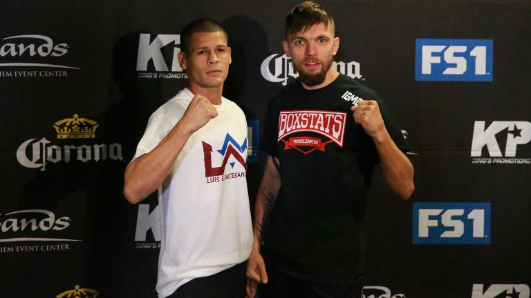 Ivan Redkach and Luis Cruz