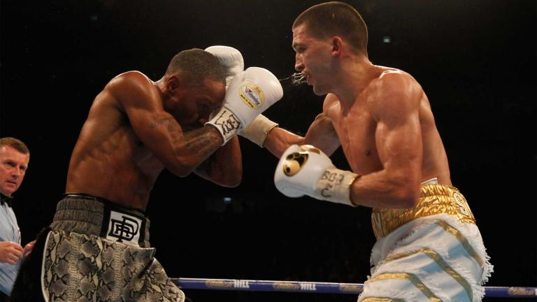 Lee Selby and Eric Hunter