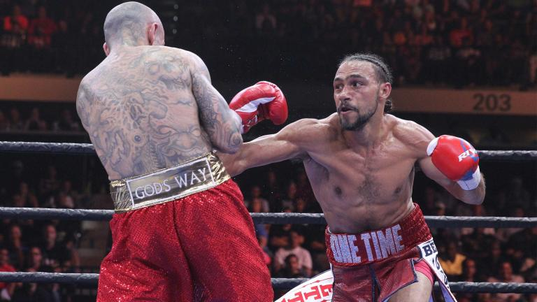 Keith Thurman and Luis Collazo