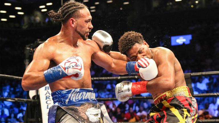 Keith Thurman and Shawn Porter