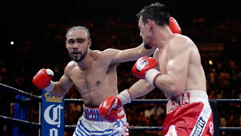 Keith Thurman and Robert Guerrero