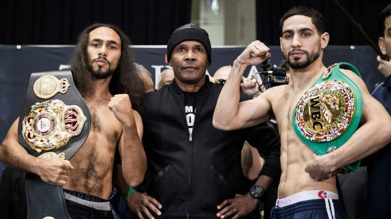 Keith Thurman and Danny Garcia