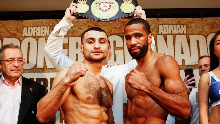David Avanesyan and Lamont Peterson