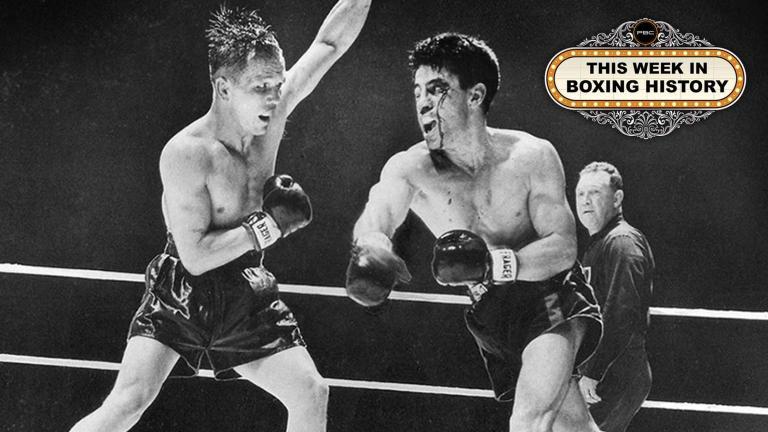 Rocky Graziano and Tony Zale