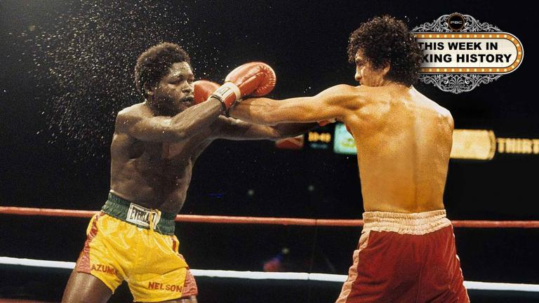 Salvador Sanchez and Azumah Nelson