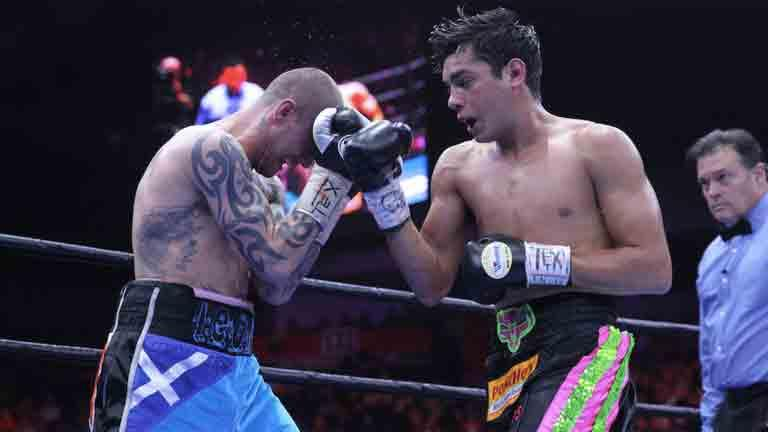 Omar Figueroa Jr and Ricky Burns