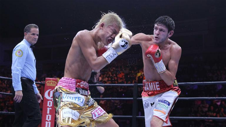 Tomoki Kameda and Jamie McDonnell