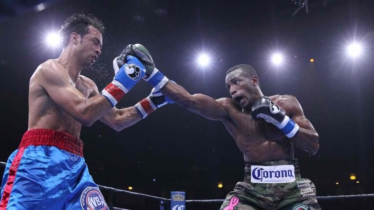 Erislandy Lara and Delvin Rodriguez
