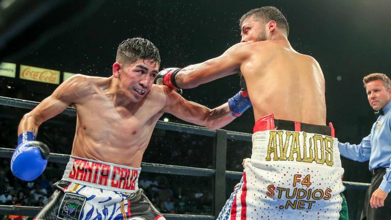 Leo Santa Cruz vs Chris Avalos